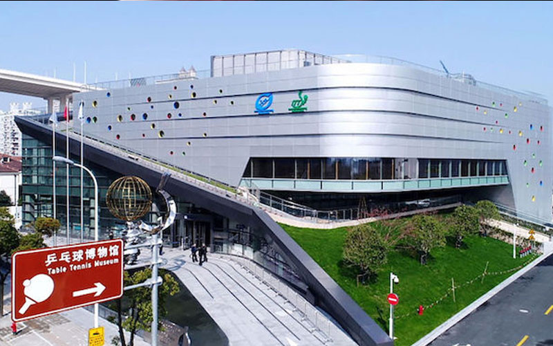 The ITTF opened a new state-of-the-art museum last year in Shanghai ©ITTF