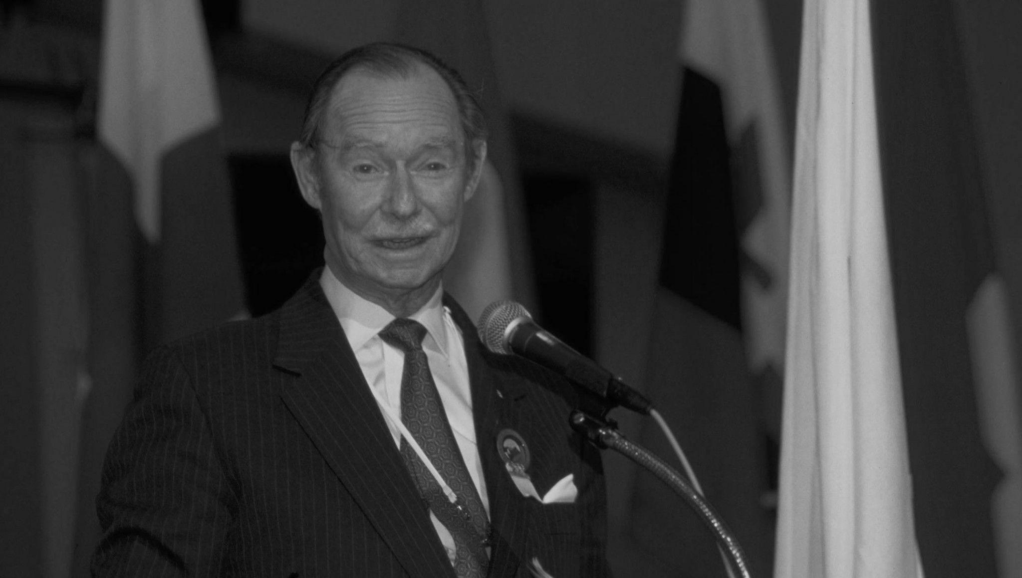 The Grand Duke Jean of Luxembourg has died at the age of 98 ©IOC