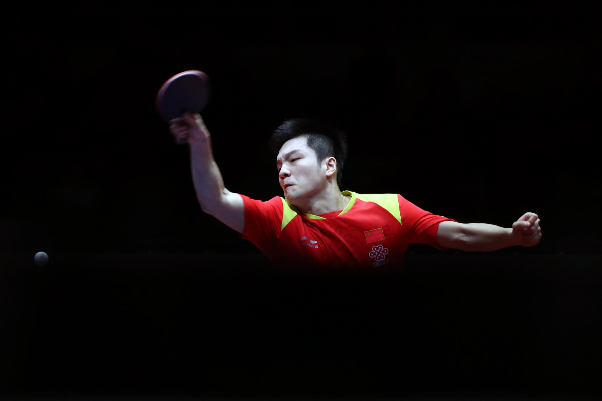 Fan Zhendong makes faultless start in quest of ITTF world men's singles gold in Budapest