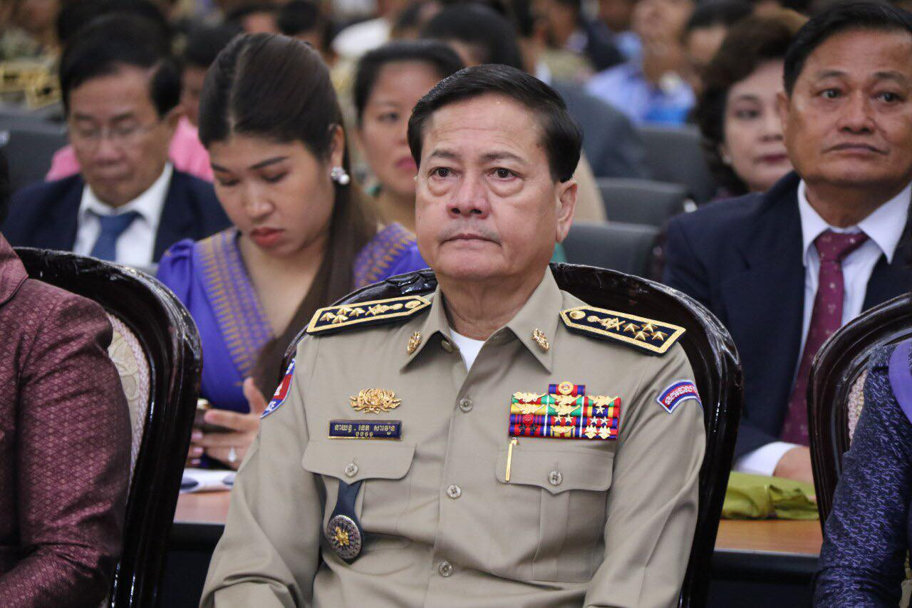 President of the Cambodian Volleyball Federation, Neth Savoeun, has been accused of serious human rights abuses ©Facebook