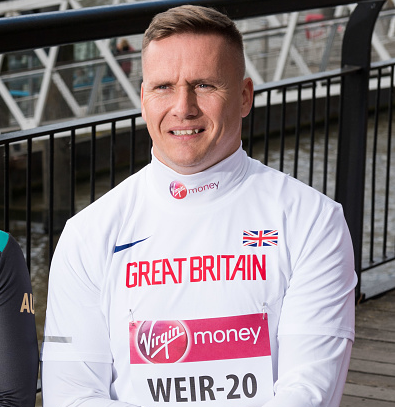 David Weir will make his 20th consecutive appearence at the race ©Getty Images
