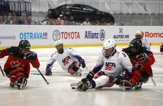 Paralympic gold medallists United States beat Canada at World Para Ice Hockey Championships