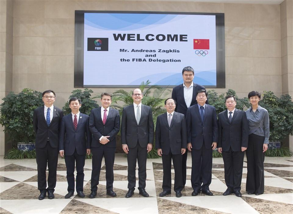 FIBA secretary general meets leaders of 2019 World Cup Organising Committee in Beijing