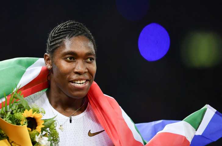 Caster Semenya, pictured after winning the IAAF Diamond League 800m title in Zurich on August 30 last year ©Getty Images