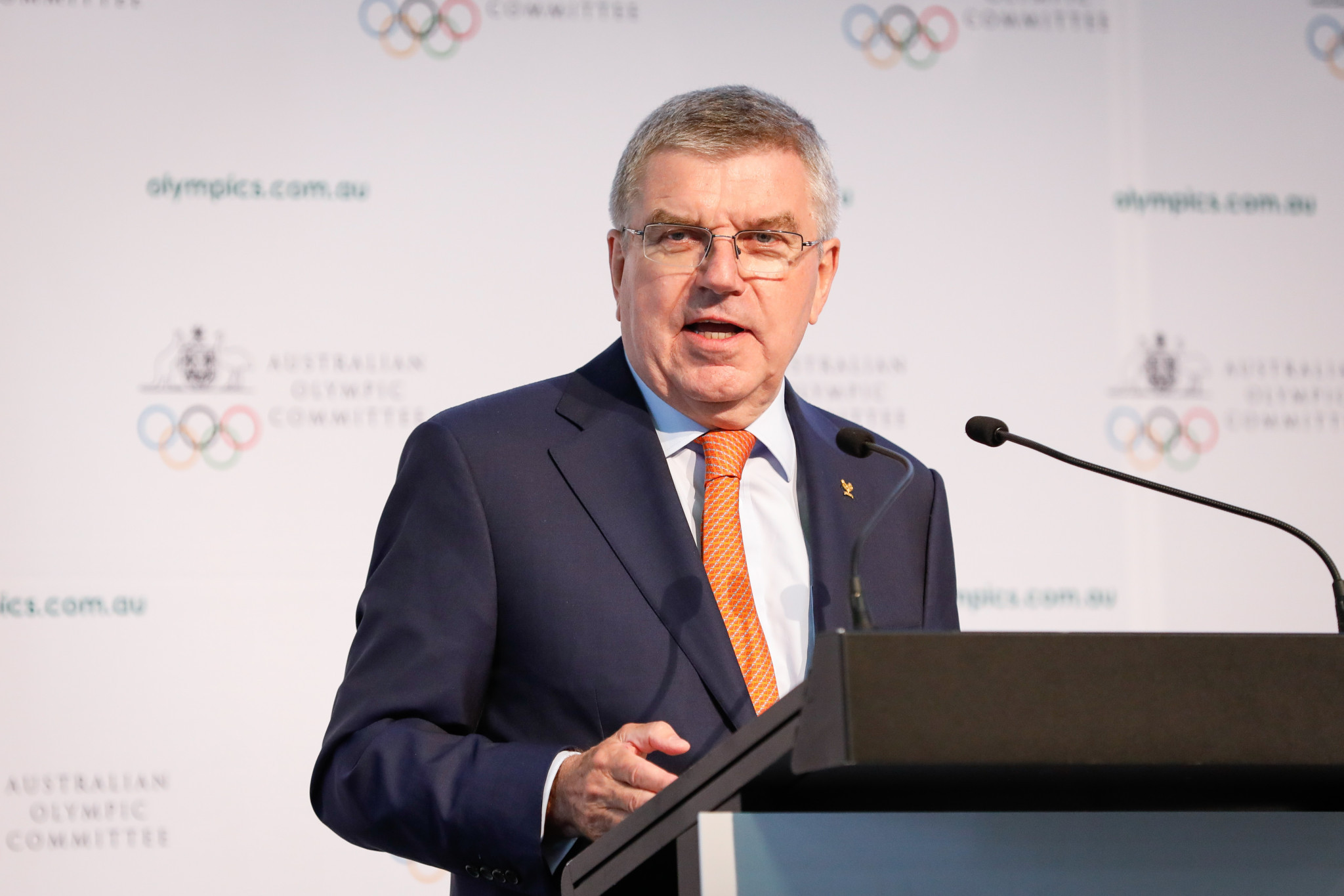 Thomas Bach has congratulated the WKF on its 50th anniversary ©Getty Images