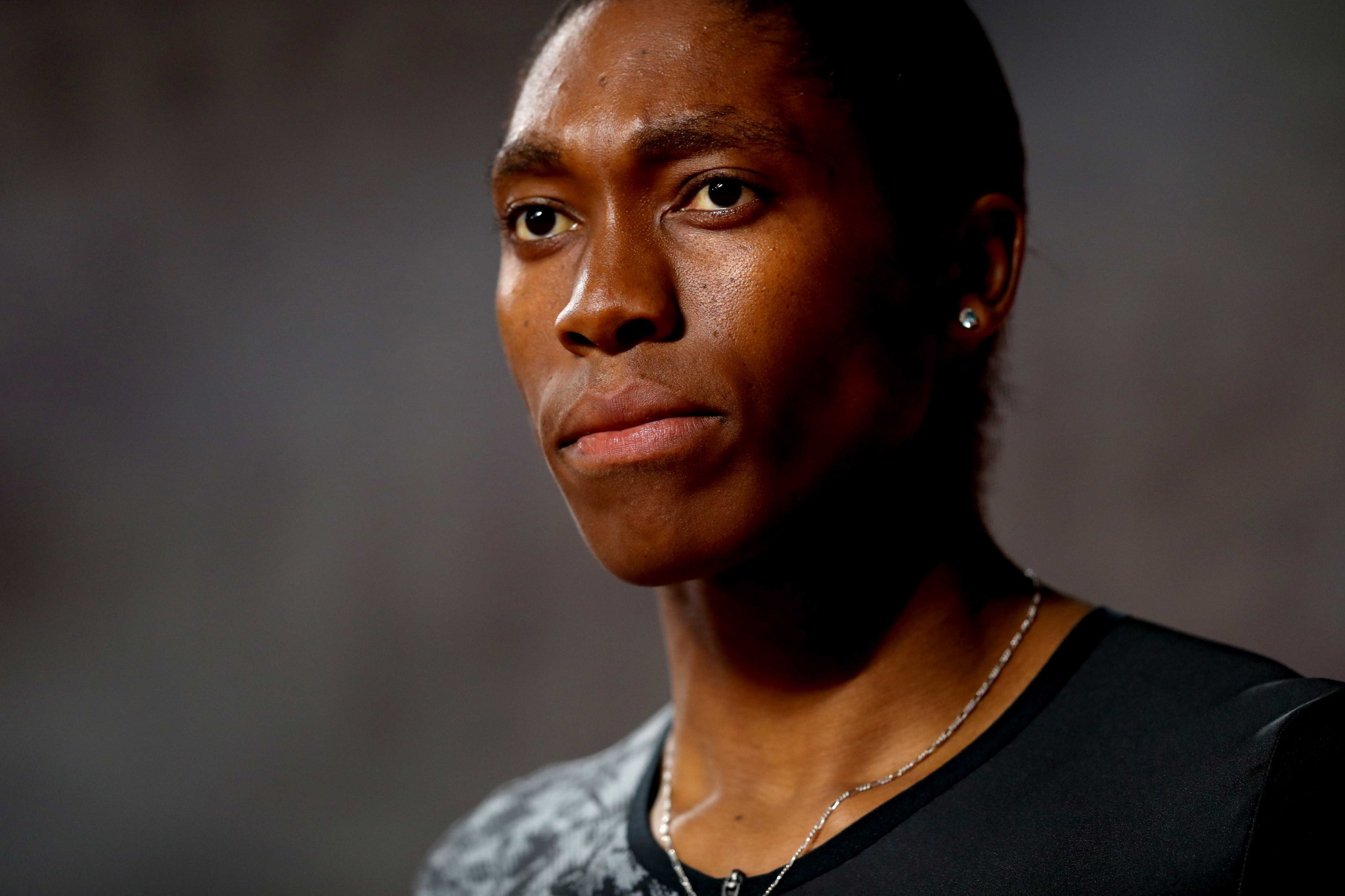 """IOC President Thomas Bach as admitted he has """"a lot of sympathy"""" for double Olympic 800 metres gold medallist Caster Semenya ©Getty Images"""