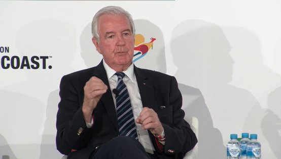 WADA President Sir Craig Reedie has criticised opponents of the decision to reinstate Russia ©ITG