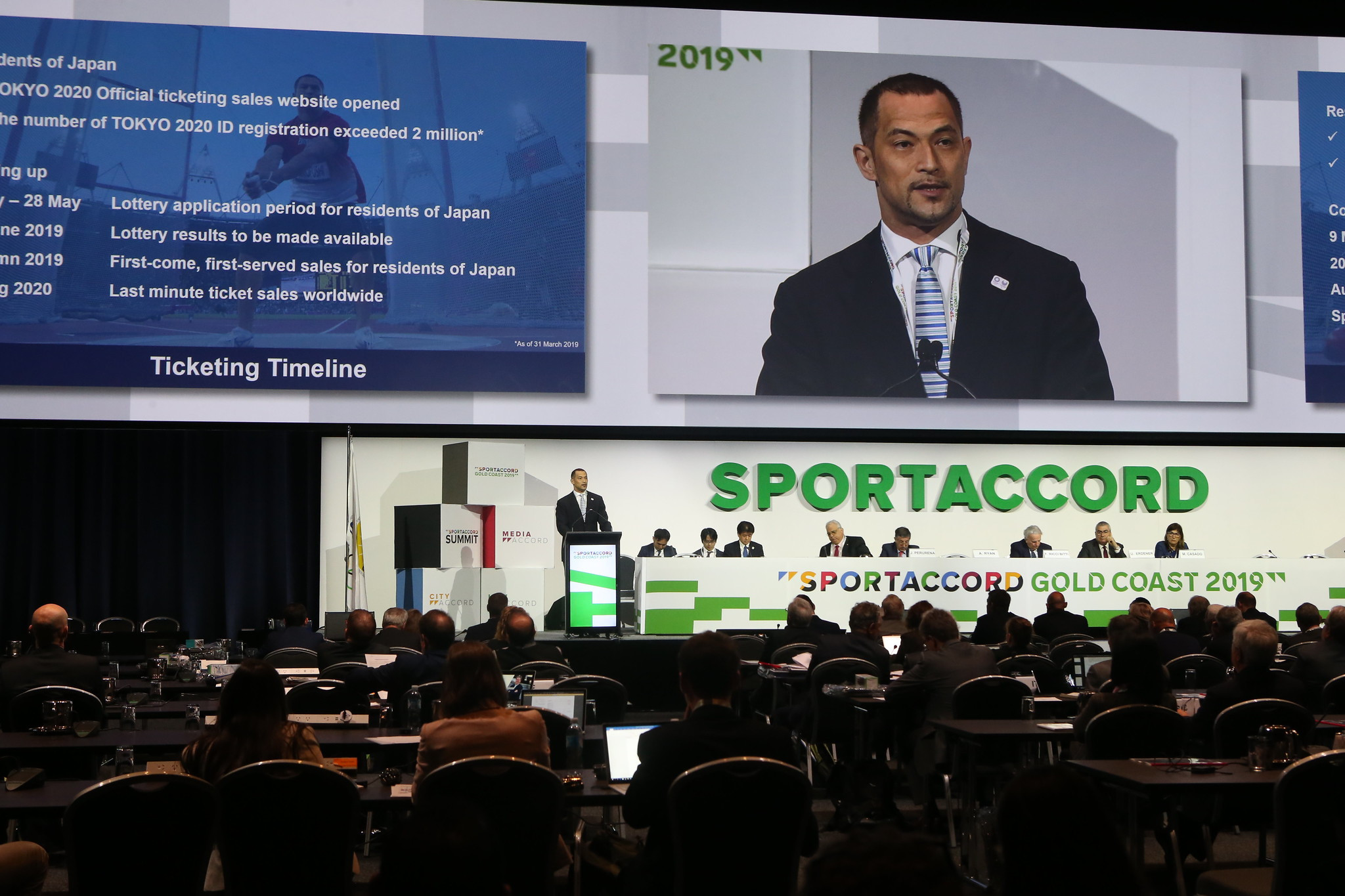 Tokyo 2020 field questions over preparations and 2026 Winter Olympic candidates present at SportAccord Summit