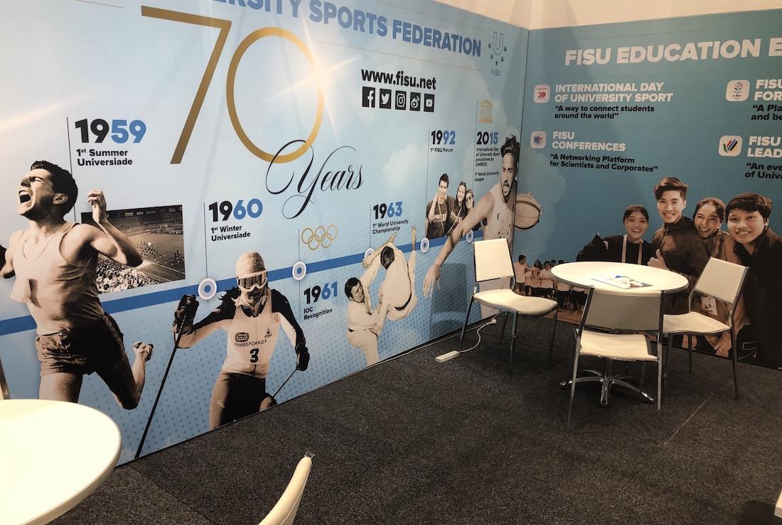 FISU highlight rich history at SportAccord Summit