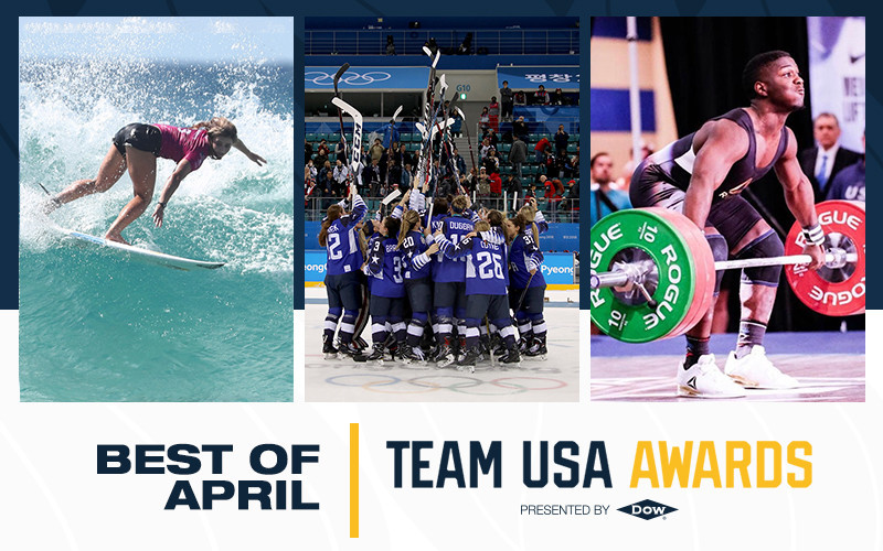 Weightlifter Cummings among those recognised as USOC announces Best of April honours for Team USA Awards