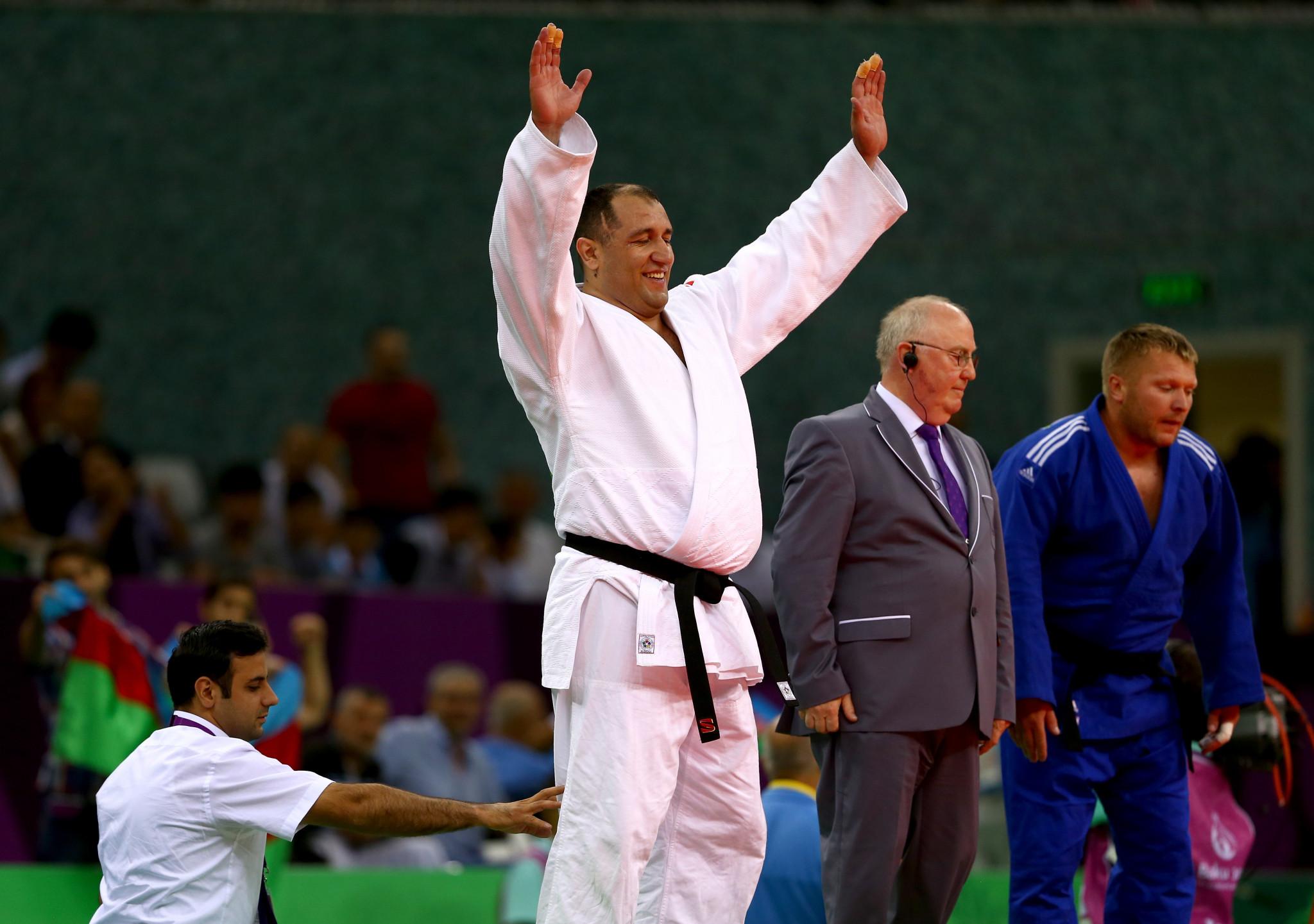 Zakiyev relishing return to action at home IBSA Judo Grand Prix in Baku