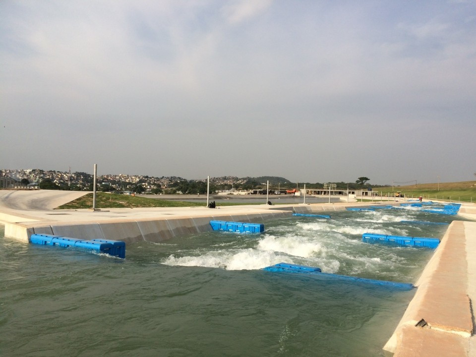 """The ICF claims preparations at the Rio 2016 canoe slalom venue have been """"picking up in intensity"""" ©ICF"""