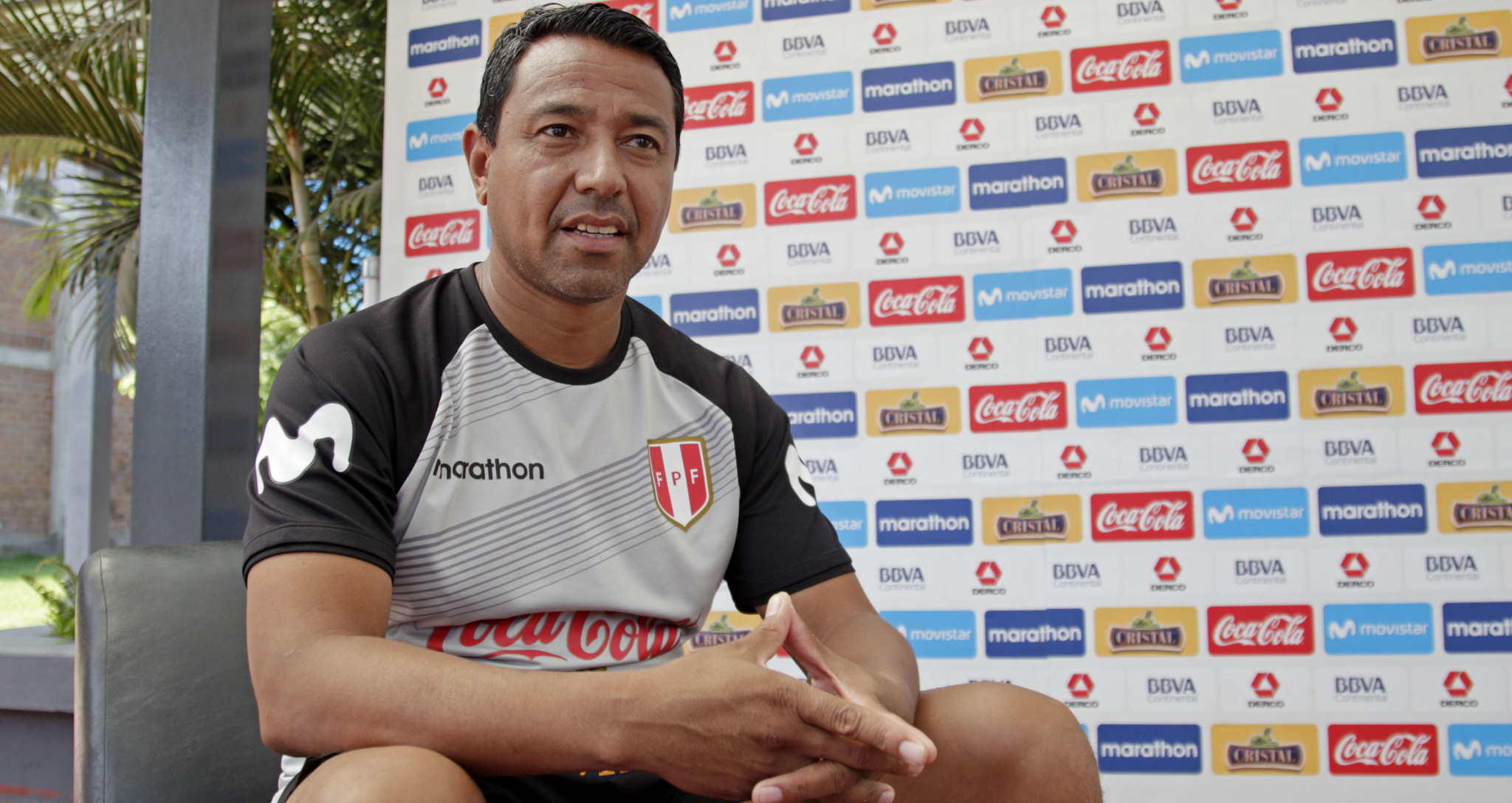 """Peru's Nolberto Solano said it would be an """"immense joy"""" to win a gold medal at the Lima 2019 Pan American Games ©Lima 2019"""