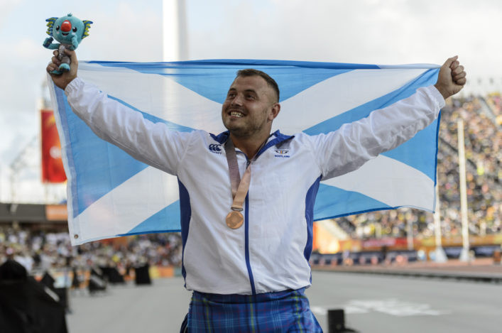Scottish hammer thrower Dry receives provisional suspension from UK Anti-Doping