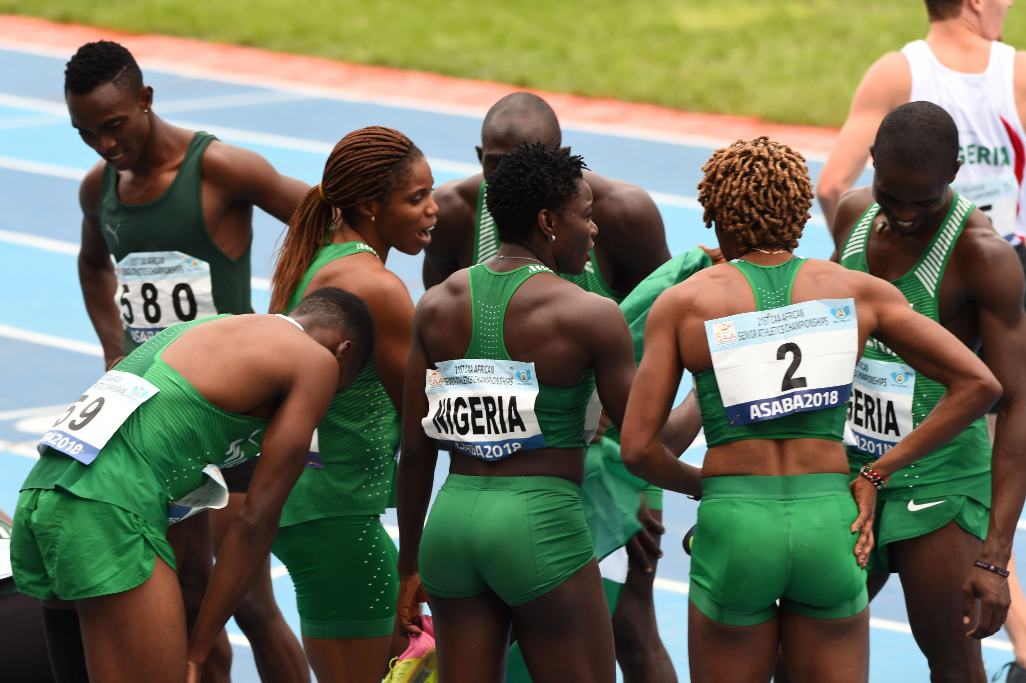 Nigerian athletes risk missing this year's major championships unless their federation returns a $134,000 overpayment to the IAAF in the next two weeks ©Getty Images
