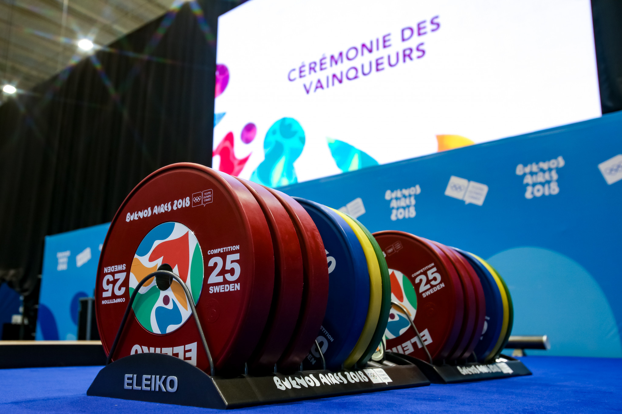 Top Indian weightlifters provisionally banned for doping offences
