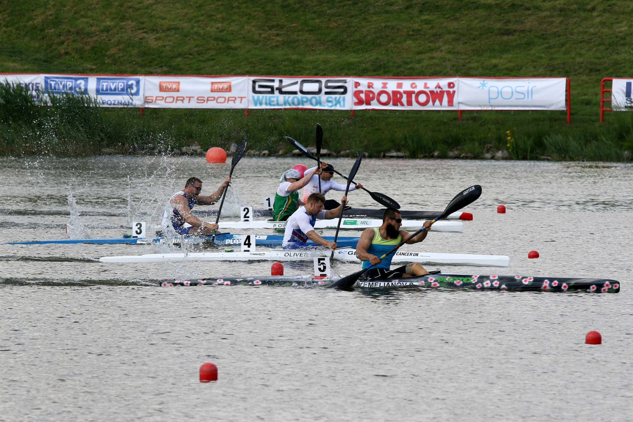 Rio 2016 Paralympic gold medallist and two-time reigning world champion Serhii Yemelianov was one of Ukraine's two winners on the opening day of the Paracanoe European Championships in Poznań ©ECA