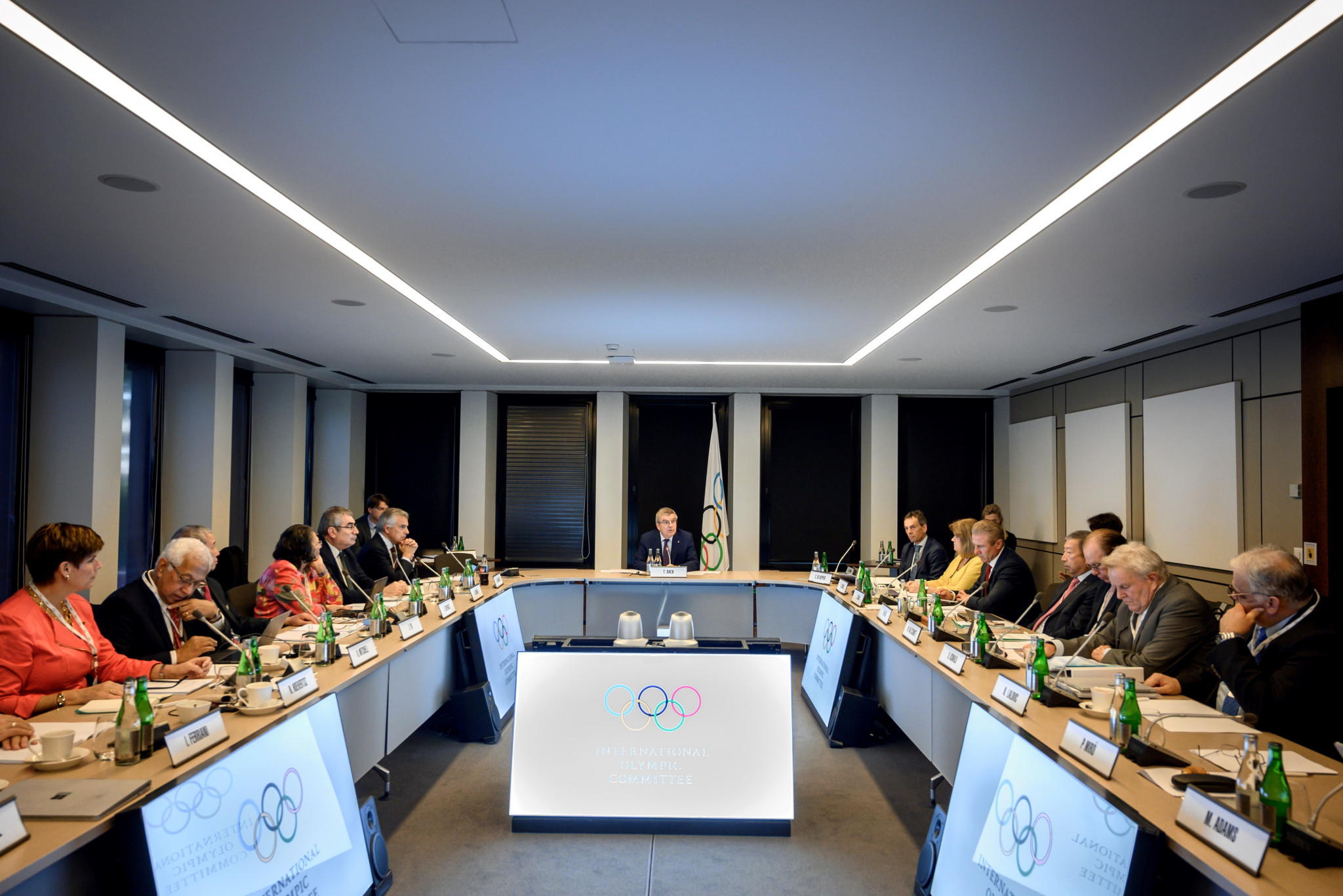 The IOC Executive Board took the decision to suspend AIBA at its meeting in Lausanne ©Getty Images