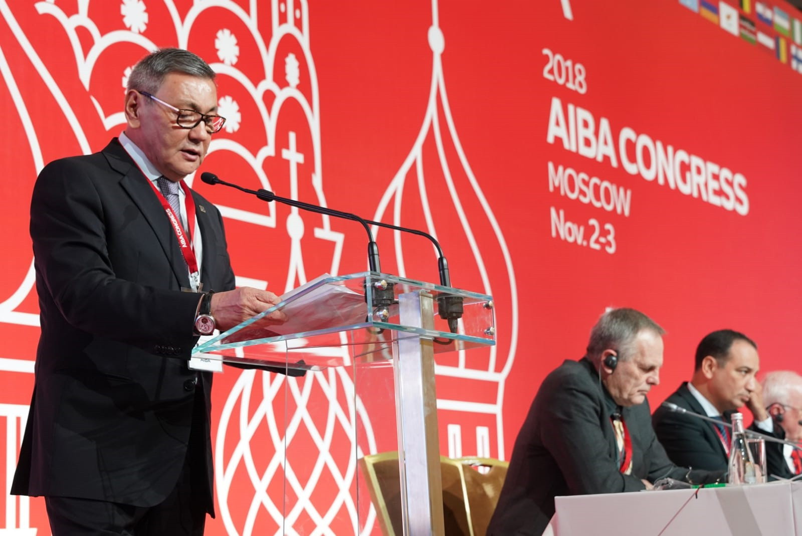 The election of Gafur Rakhimov as permanent AIBA President last November appears to have been a major factor in the decision of the IOC to withdraw recognition of the world governing body ©AIBA