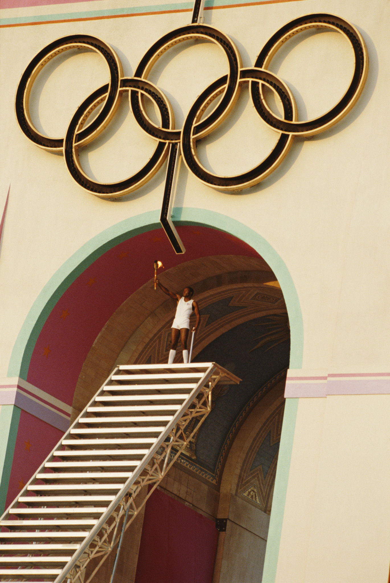 The Olympic Movement and commercialism have co-existed with increasing complexity since Los Angeles 1984 ©Getty Images
