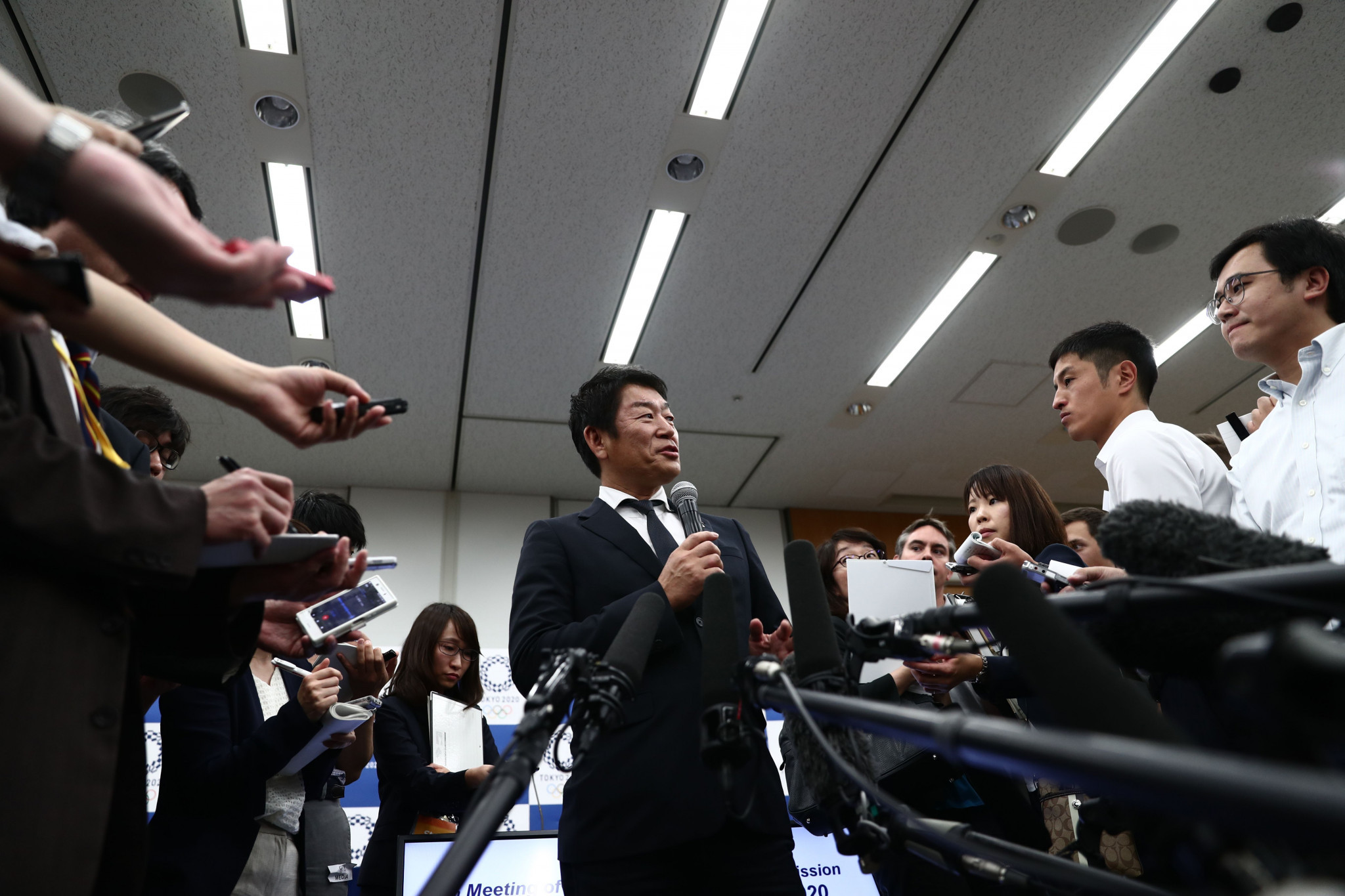 Morinari Watanabe will chair a taskforce to deliver a boxing tournament at Tokyo 2020 ©Getty Images