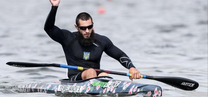 Serhii Yemelianov was one of two Ukrainian gold medallists on the final day ©ICF