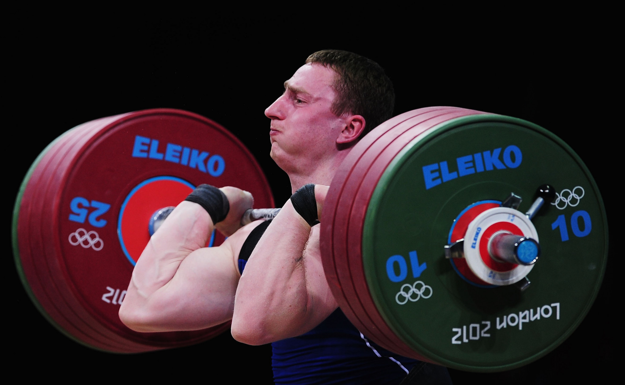 Belarus' Mikalai Novikau initially finished eighth in the men's 85kg category at London 2012 ©Getty Images
