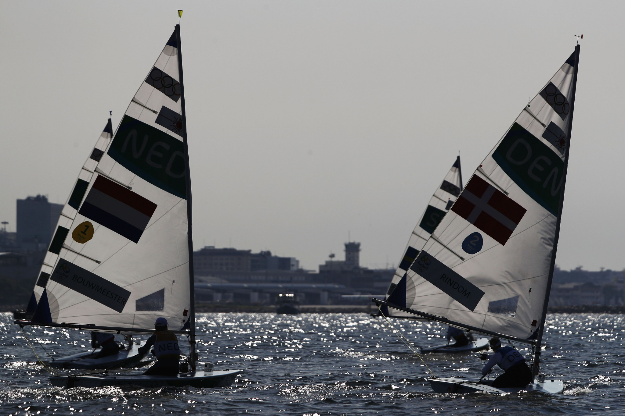 The one-person dinghy events at Lima 2019 will offer qualification towards Tokyo 2020 ©Getty Images
