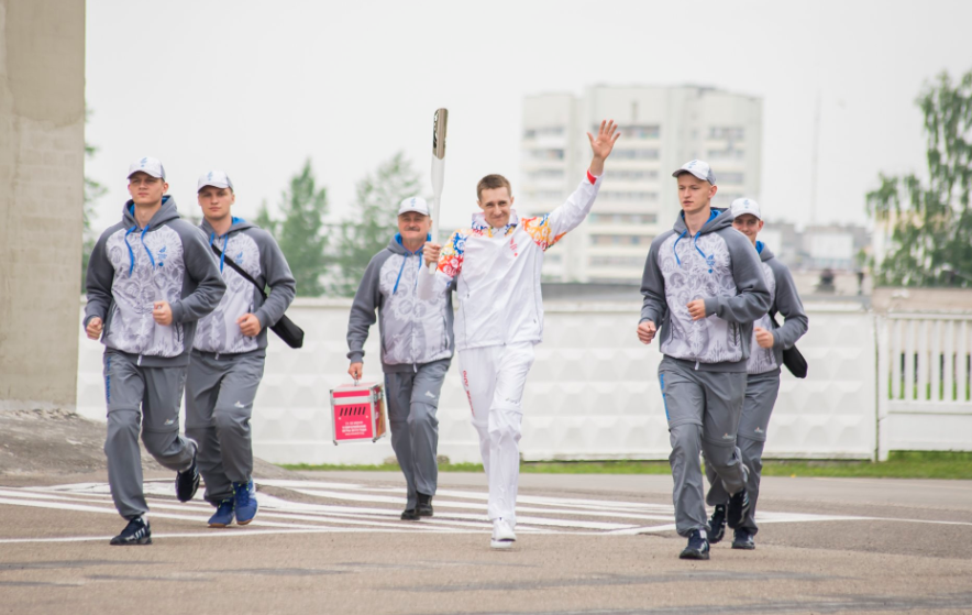 The Torch has been on a journey across Europe ahead of the European Games in Minsk ©Minsk 2019