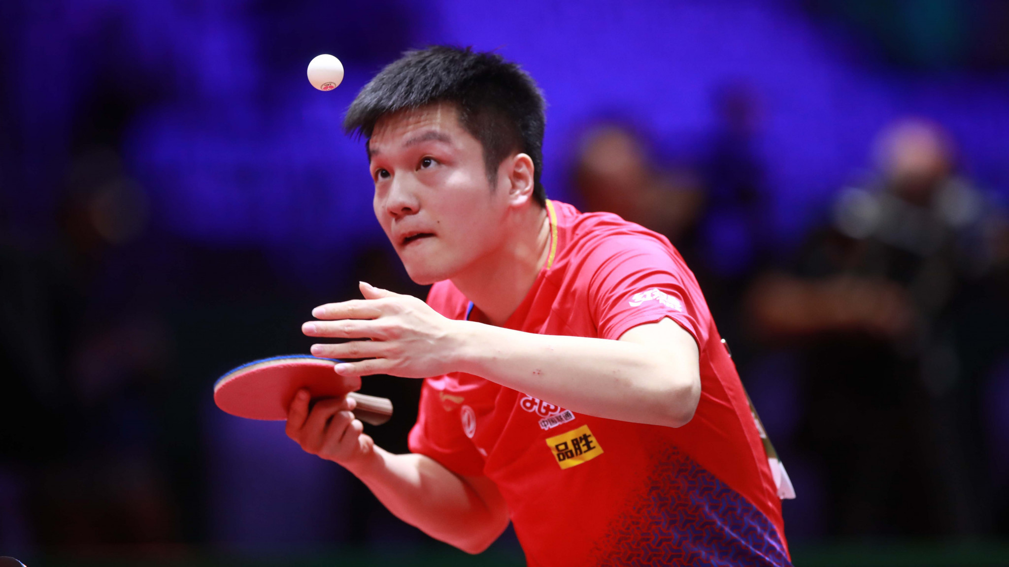 Fan Zhendong sits top of the revamped men's table tennis world rankings ©Getty Images