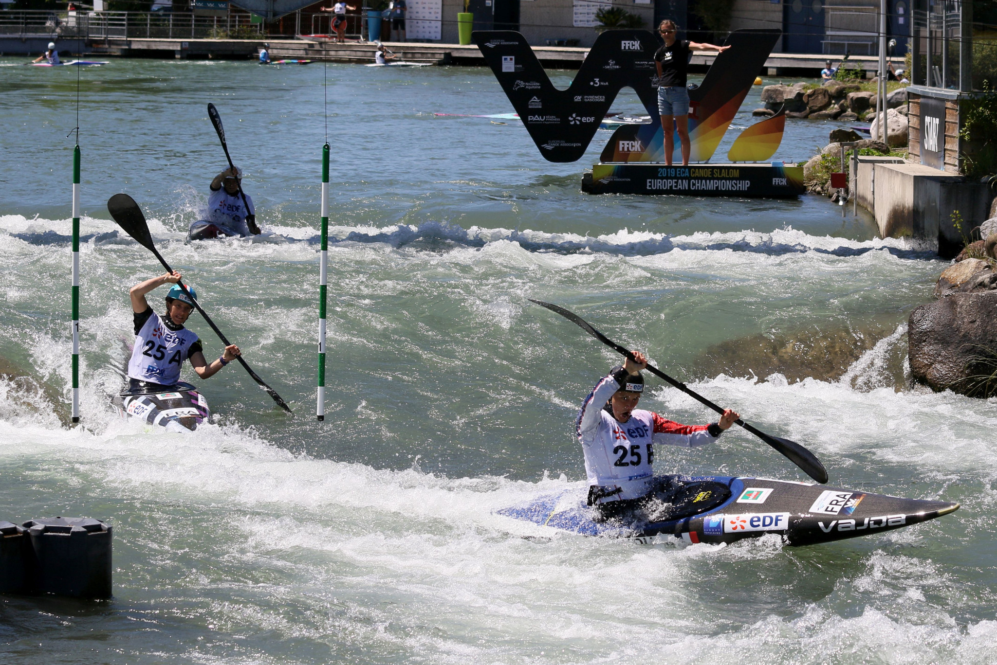 The 2020 Canoe Slalom European Championships are set to go ahead ©Getty Images