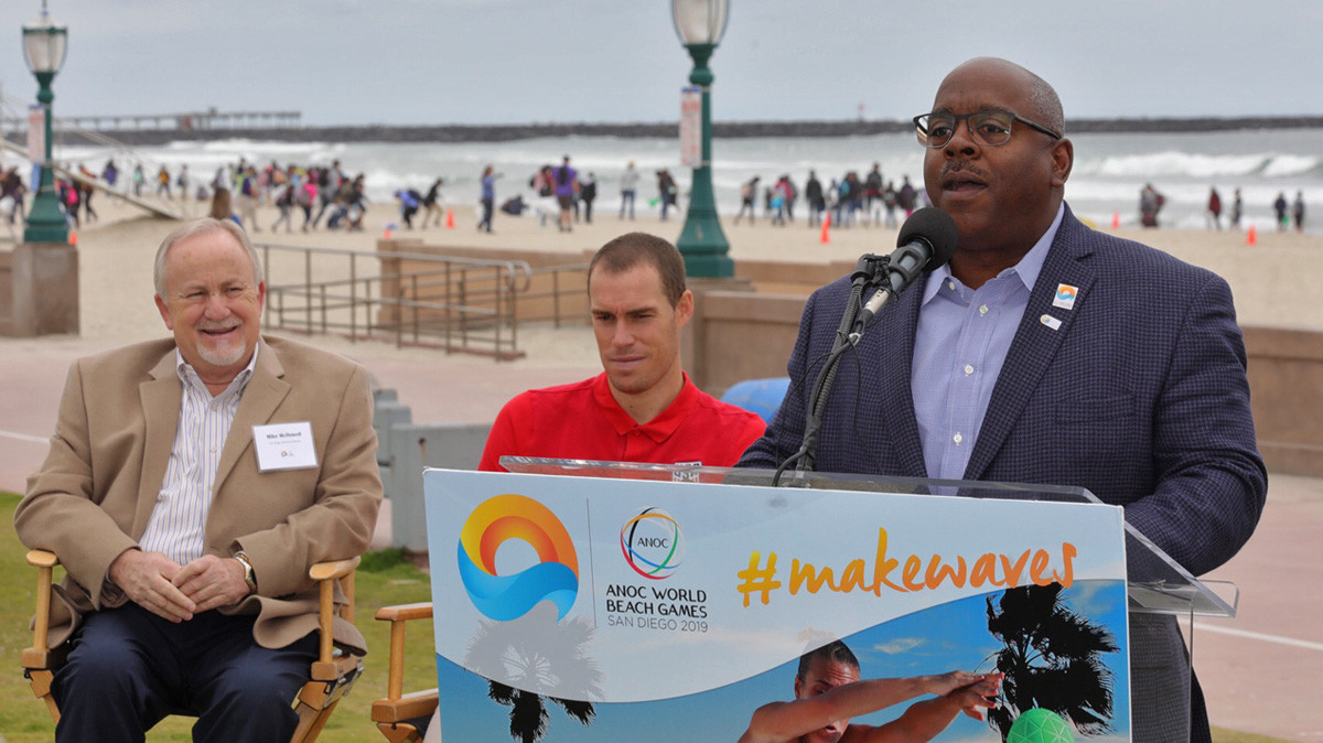 ANOC World Beach Games chairman admits they could not find enough corporate backing to stage event