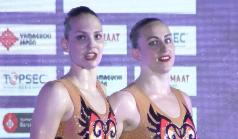 Russia and Ukraine share honours on final day of FINA Artistic Swimming World Series in Barcelona
