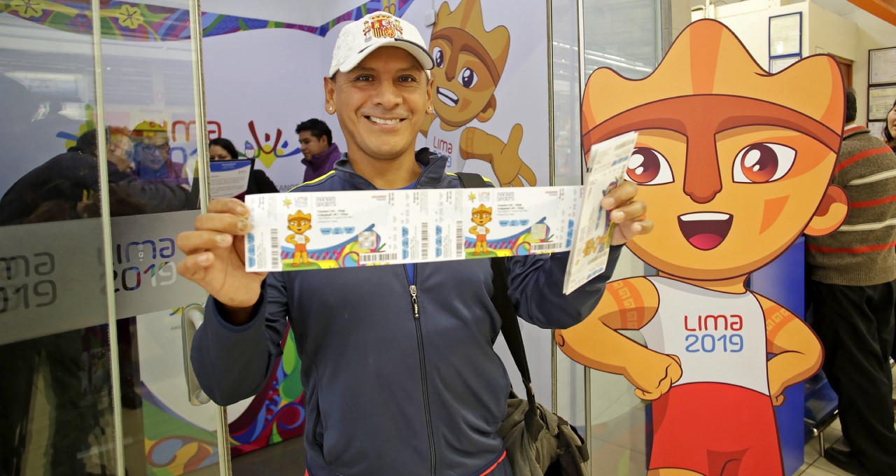 More than 50,000 tickets for this year's Pan American and Parapan American Games in Lima have been sold in the space of two days ©Lima 2019