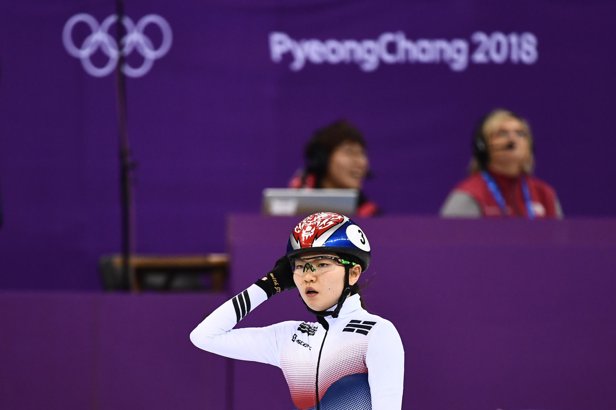 Shim Suk-hee's complaints have prompted others to speak out about sexual abuse in South Korean sport ©Getty Images