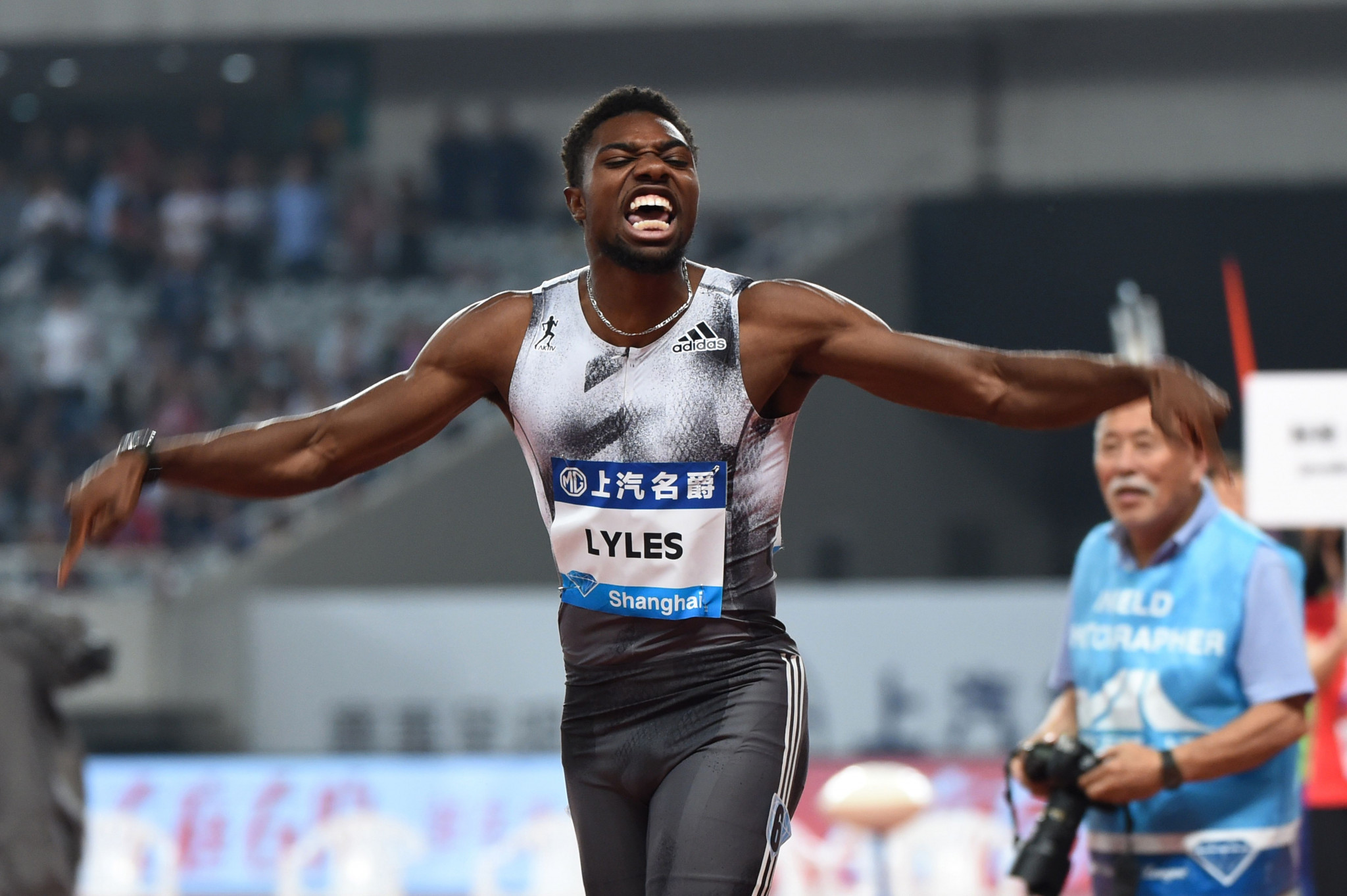 Young US sprint marvels Lyles and Norman on collision course in Rome's IAAF Diamond League 200m