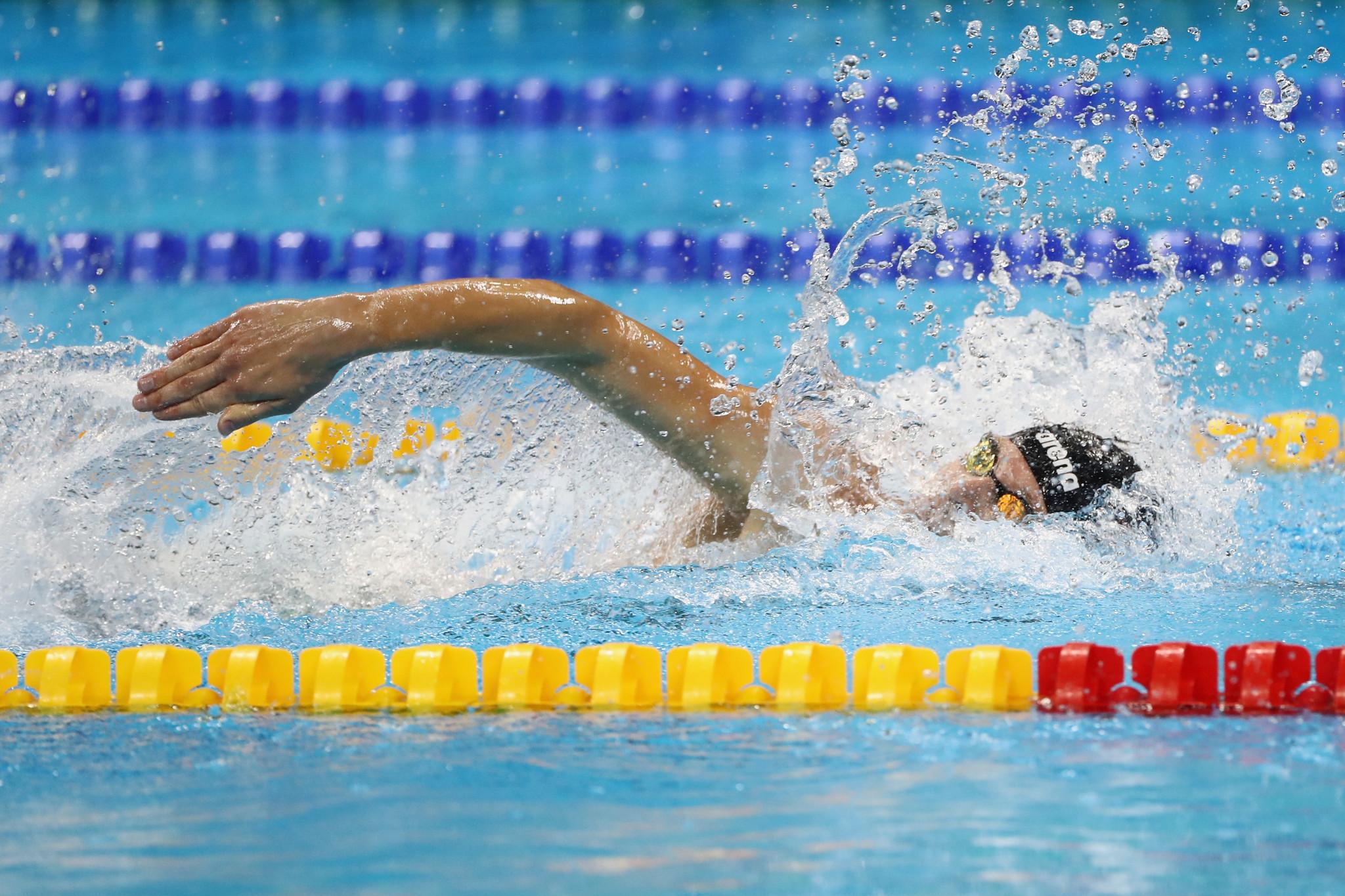 Boki sets world record as Para Swimming World Series begins