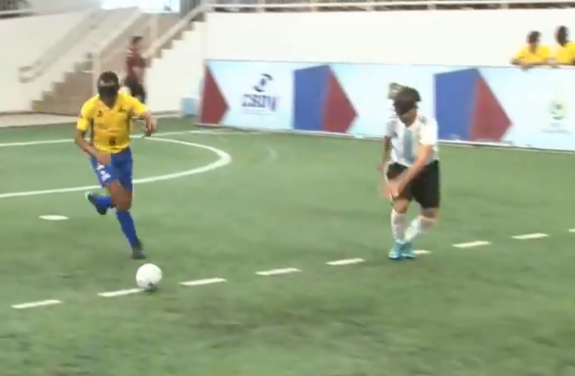 Argentina follow Brazil in earning first win at IBSA Blind Football Americas Championship