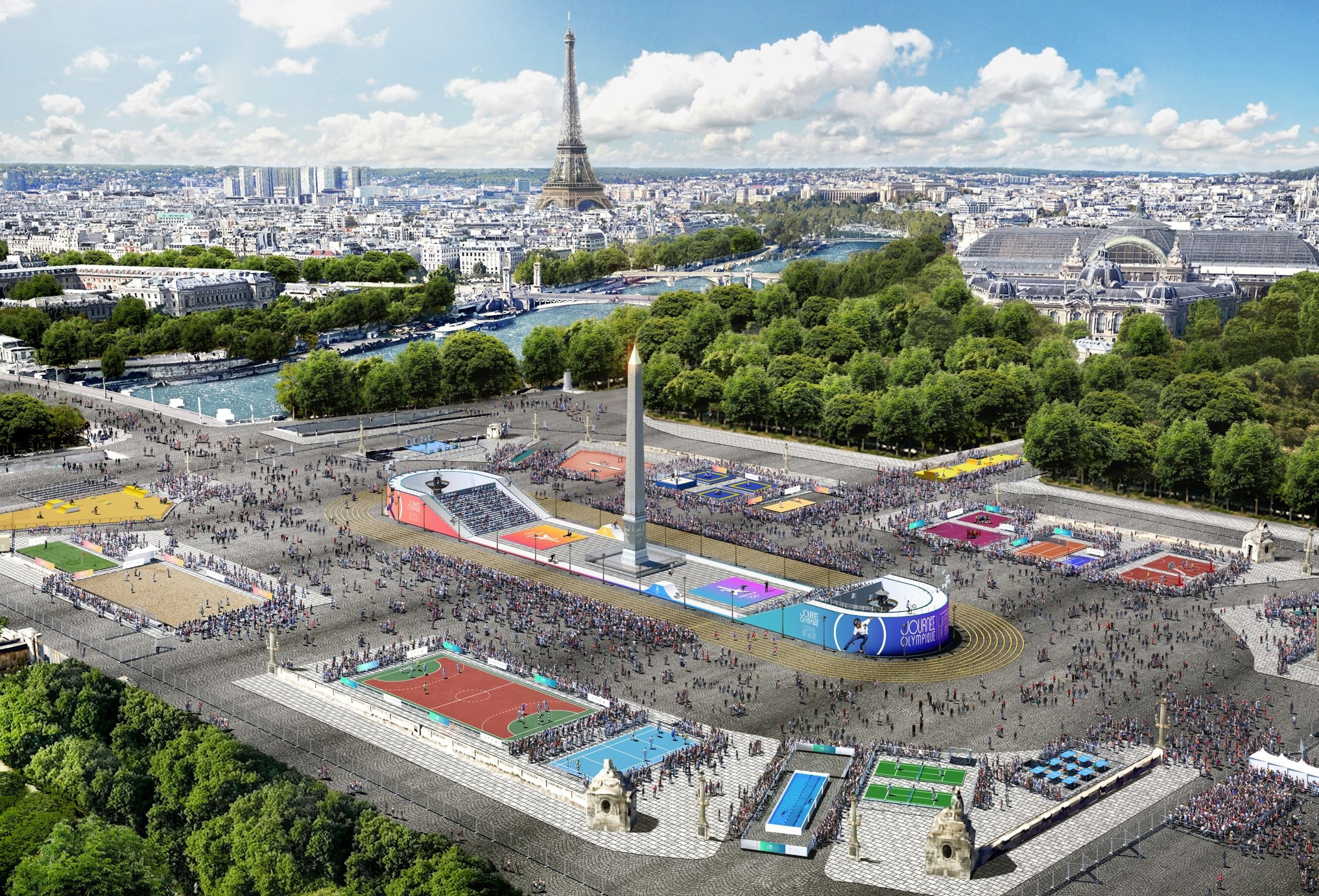 Paris 20 unveils plans for Olympic Day and Festival of Sport
