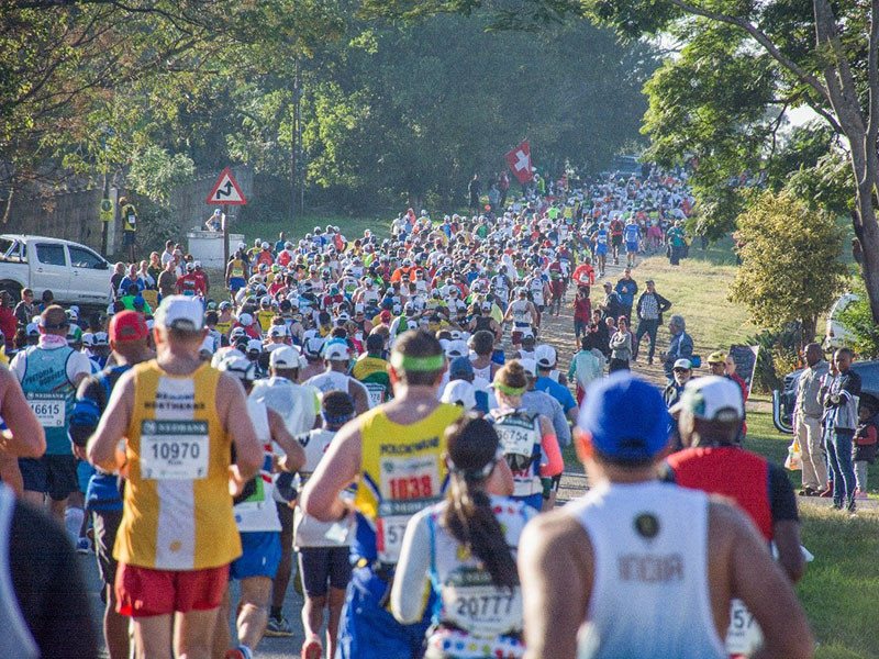 The IAAF has overturned a decision by Athletics South Africa to ban Russian runners from competing ©Comrades Marathon