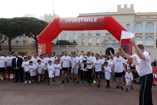 IAAF ends week-long celebration of running with inaugural Athletics Family Mile Run