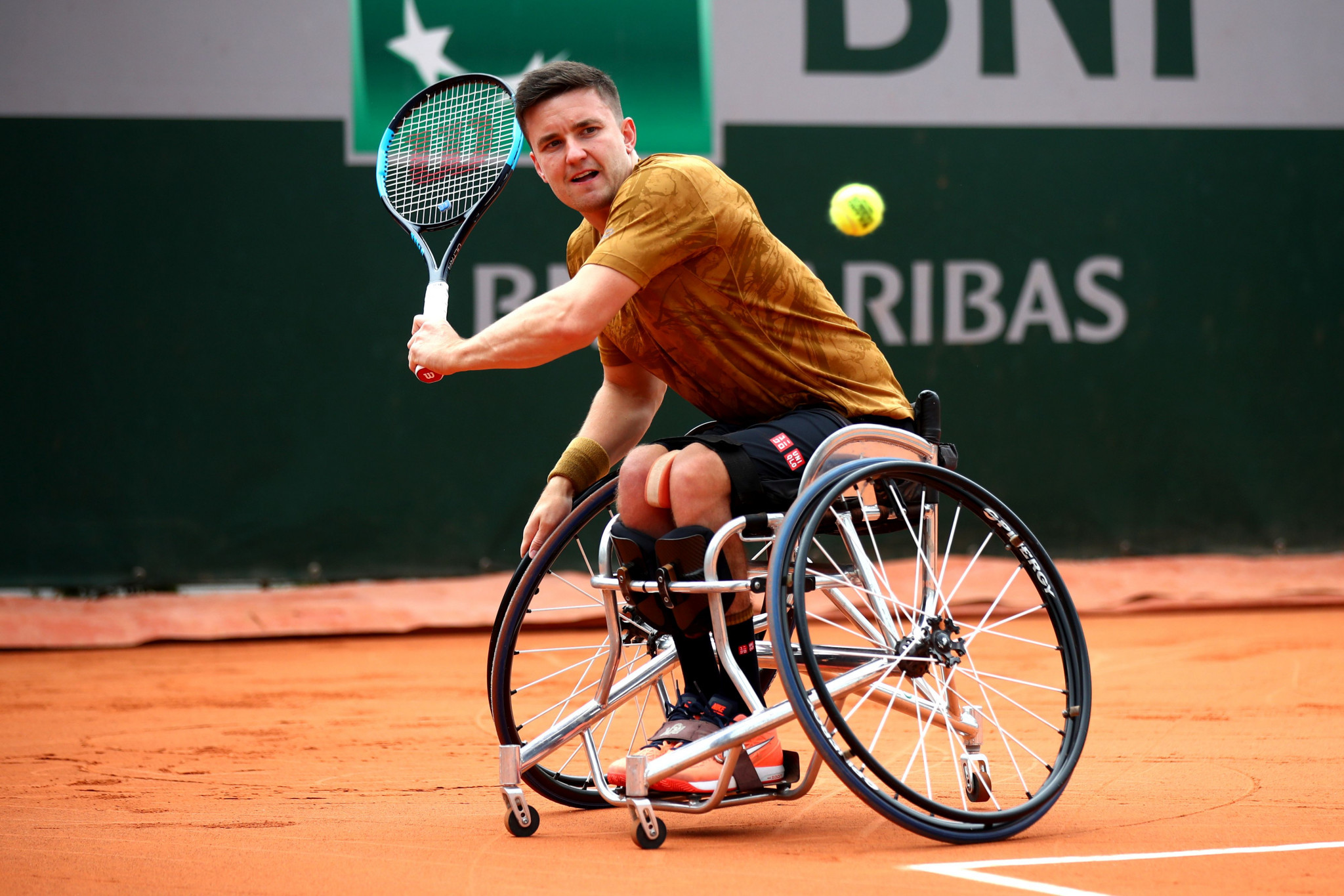 Gordon Reid is the reigning men's singles Paralympic wheelchair tennis champion ©Getty Images