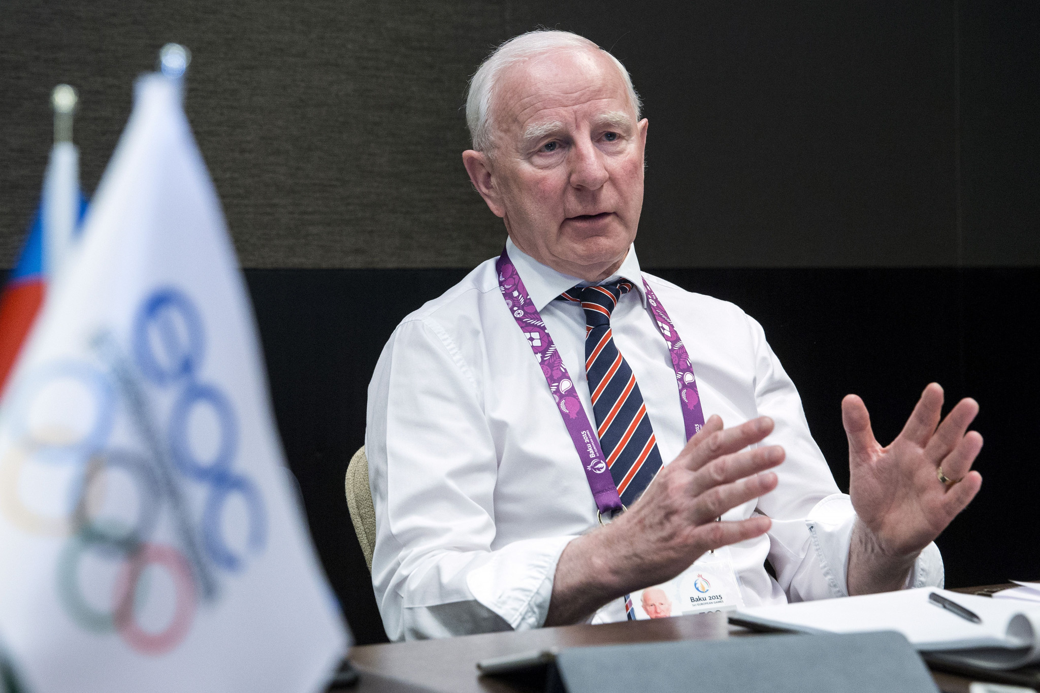 Hickey to attend Minsk 2019 European Games after accepting EOC invitation