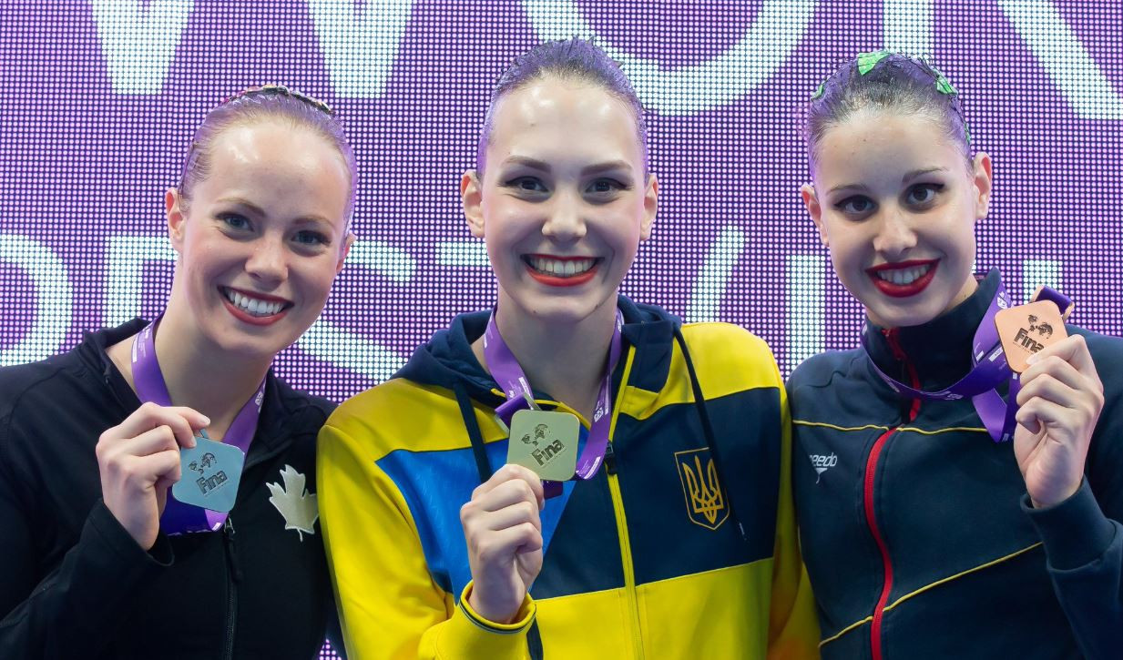 Ukraine steal the show to collect three golds at FINA Artistic Swimming Super Finals