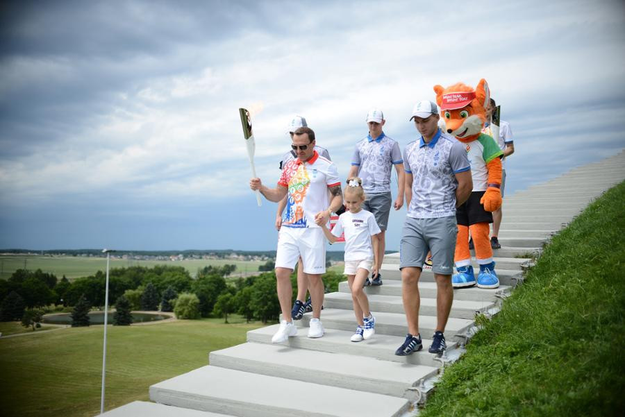 The Torch Relay is now in its closing stages ©Minsk 2019