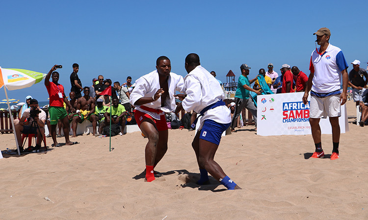 This year's event will be the first World Championships in beach sambo ©FIAS