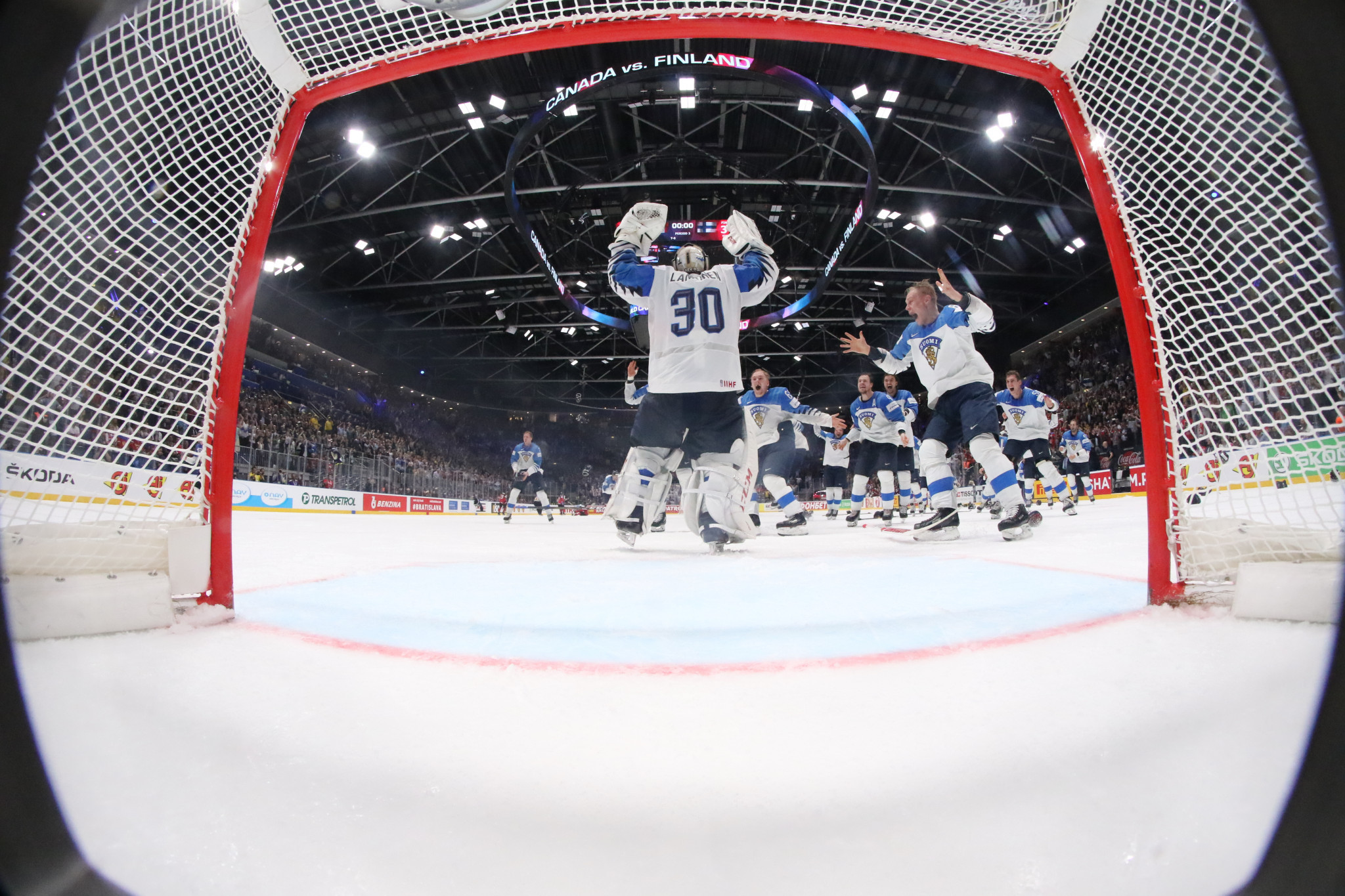 Finland triumphed at last month's IIHF World Championship in Slovakia ©Getty Images