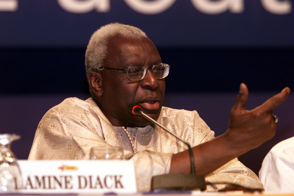 The IAAF insist any wrongdoing in covering up positive drugs tests involving Russian athletes was confined to a small minority, despite the allegations against former President Lamine Diack ©Getty Images