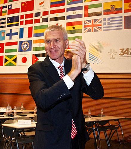 Oleg Matytsin of Russia has been elected as the new President of FISU ©FISU