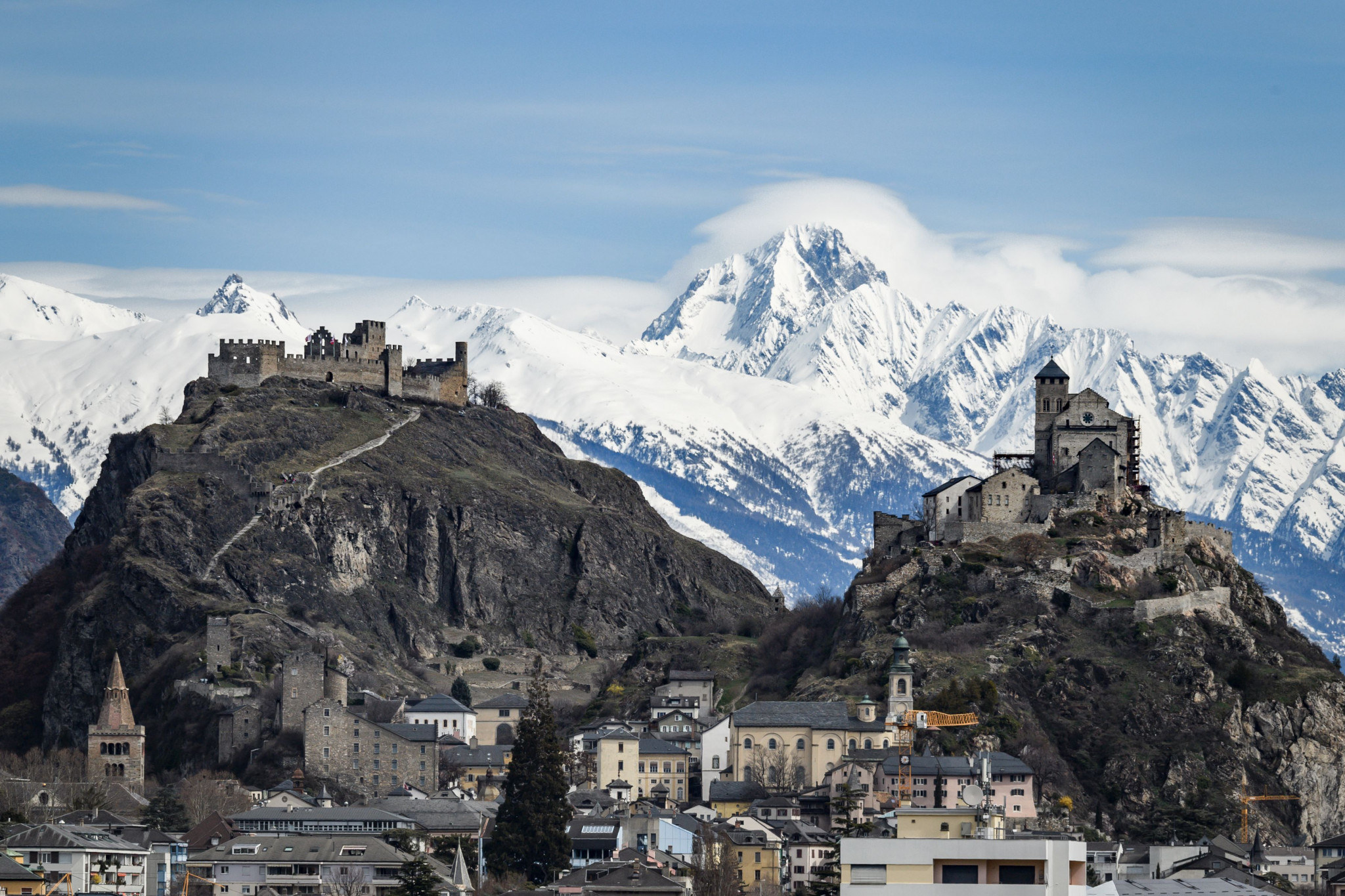 Sion in Switzerland was among the cities to withdraw their bid for the 2026 Games after losing a referendum ©Getty Images
